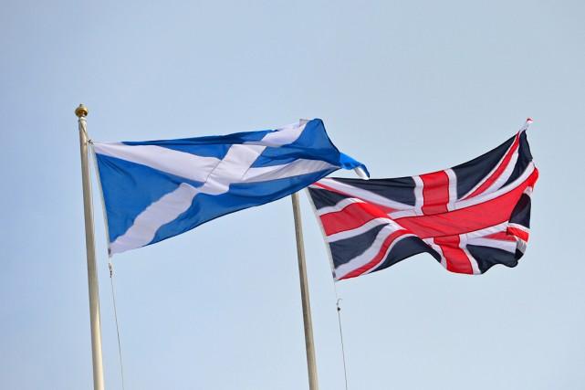 Lors du premier référendum sur l'indépendance en 2014,... (Photo AFP)