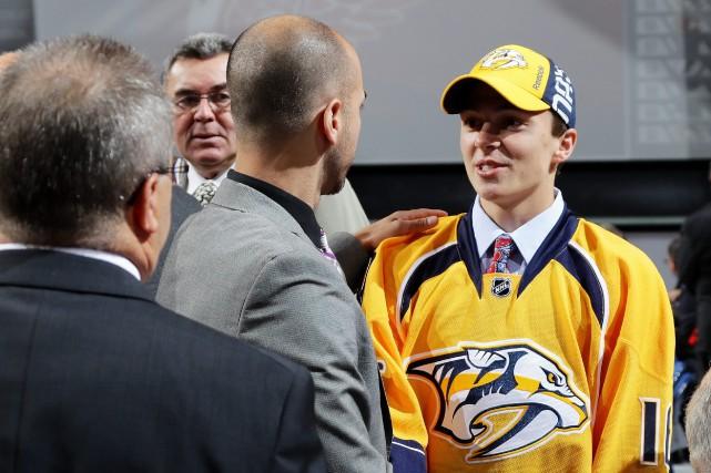Samuel Girard ira à Nashville une semaine pour... (Photo AFP)