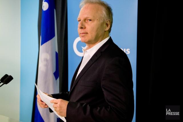 S'il était élu à la tête du Parti... (Archives La Presse)