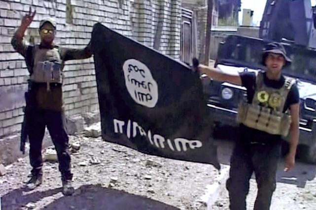 Située à une cinquantaine de kilomètres de Bagdad,... (Image tirée d'une vidéo via AP)