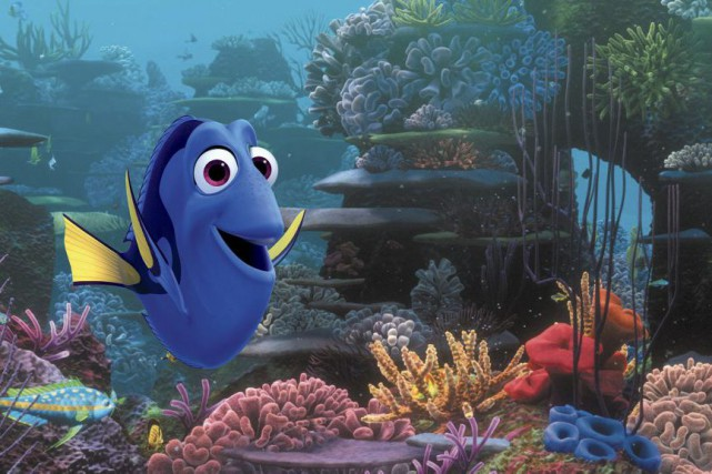 Le monde de Dory... (PHOTO FOURNIE PAR PIXAR)