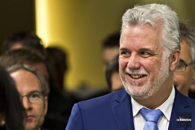 Le premier ministre du Québec, Philippe Couillard.... (Archives Le Nouvelliste)