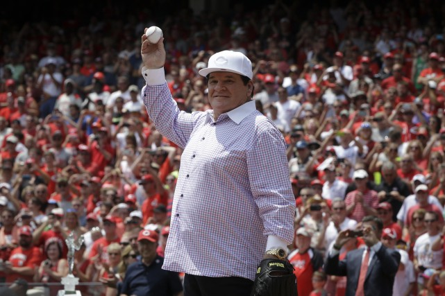 Pete Rose... (Photo John Minchillo, AP)