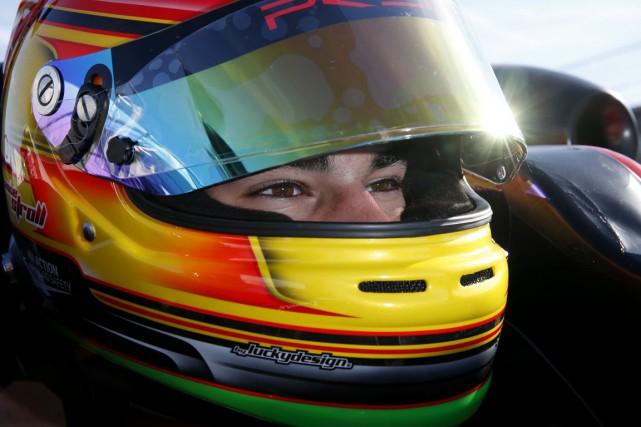 Le jeune pilote québécois Lance Stroll... (Prema Powerteam)