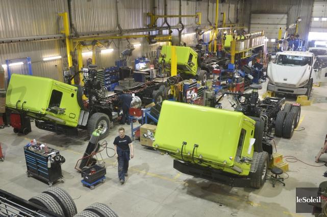 Avec une production annuelle de 1200 véhicules de... (Le Soleil, Jean-Marie Villeneuve)