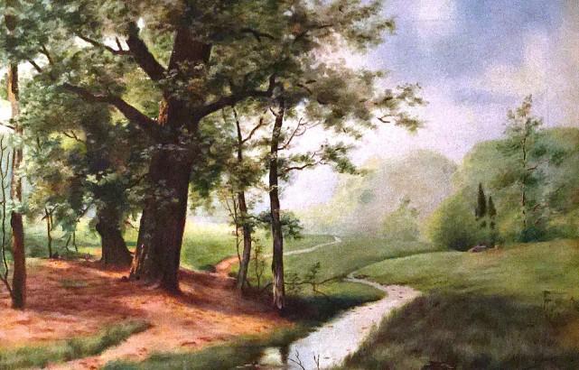 Une toile de l'artiste Christiane Gruninger-Jacob....