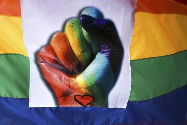 Stéphanie Vallée insiste pour dire que les gais... (Agence France-Presse)