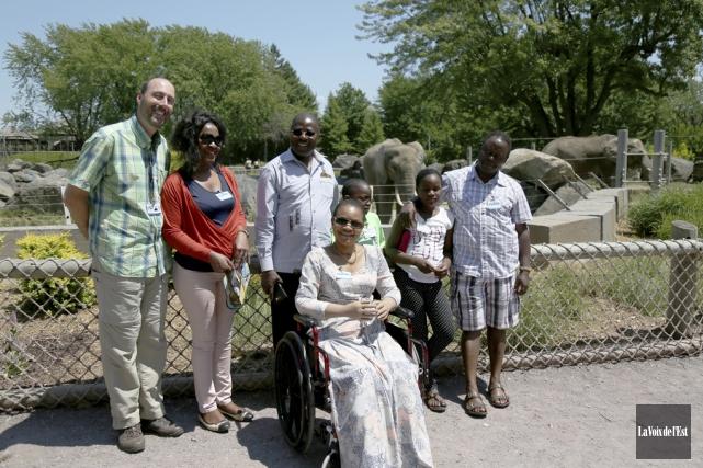 Le directeur conservation et recherche du Zoo de... (Julie Catudal, La Voix de l'Est)