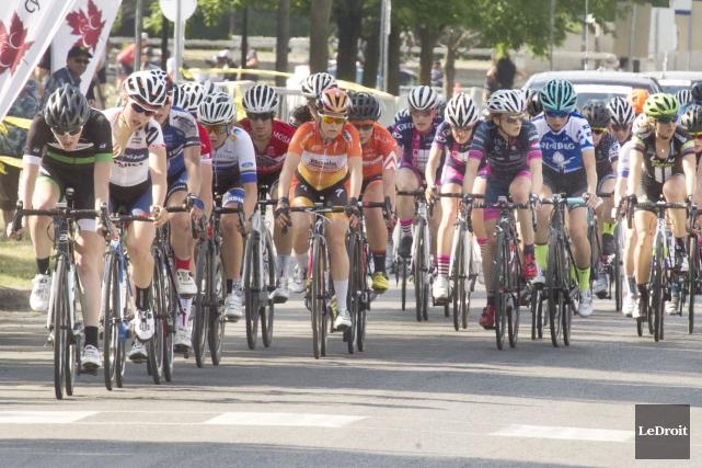 Les championnats canadiens de cyclisme sur route ont... (Martin Roy, LeDroit)