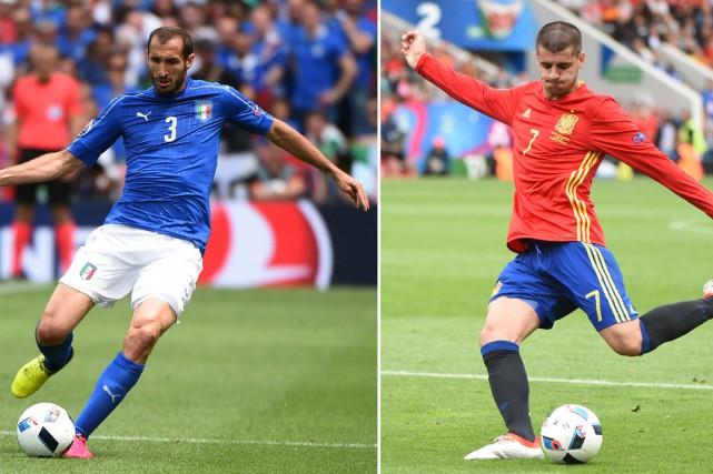 «L'Espagne a inauguré contre nous son cycle d'or... (Photo AFP)
