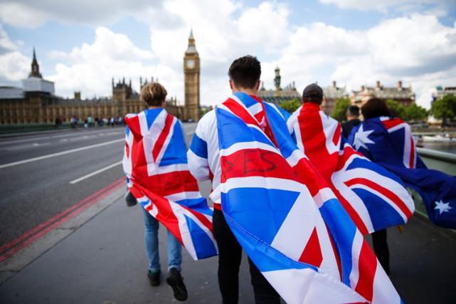 Signe d'un Brexit qui a du mal à... (PHOTO AFP)