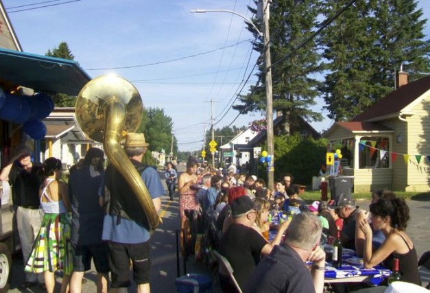 Saint-Élie-de-Caxton a traversé son premier Festival de Jase... (Courtoisie)