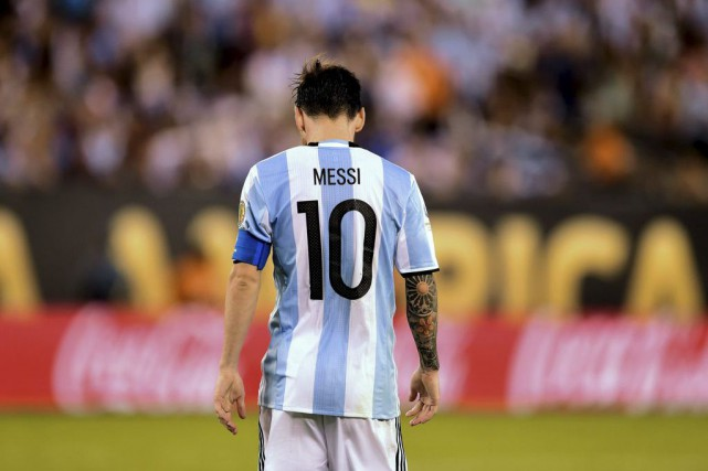 «La sélection, c'est fini pour moi, c'est la... (PHOTO ALFREDO ESTRELLA, AFP)