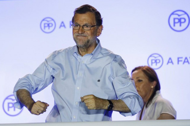 «Nous réclamons le droit de gouverner», a lancé... (PHOTO MARCELO DEL POZO, REUTERS)
