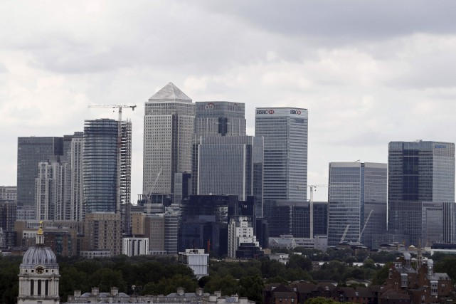 64 % desdirigeants d'entreprises britanniquespensent que la sortie... (AFP, Odd Andersen)