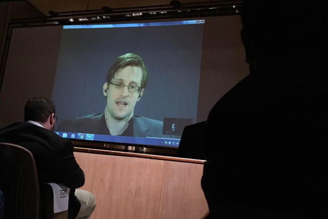 Edward Snowden... (PHOTO Juliet Linderman, archives AP)