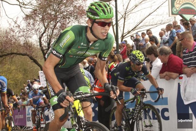 Le Chicoutimien Antoine Duchesne devient le premier cycliste... (Archives Le Quotidien)