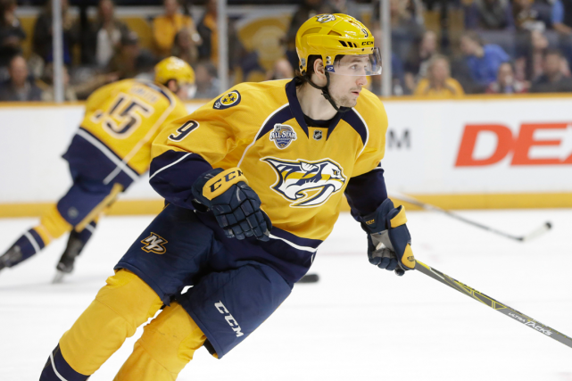 Filip Forsberg... (Photo Mark Humphrey, AP)