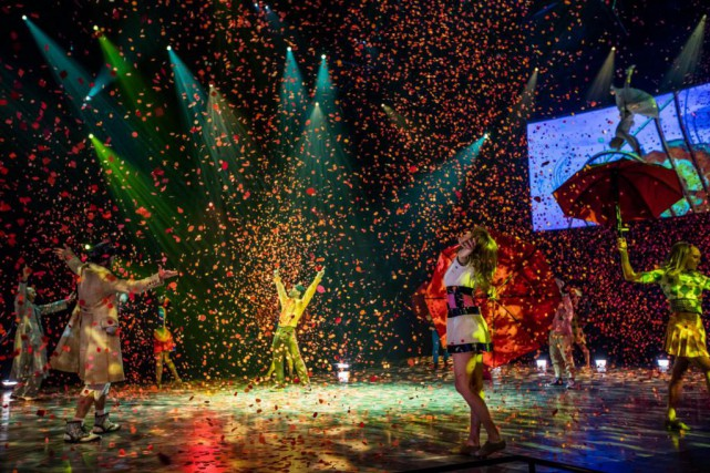 Depuis sa création le 30 juin 2006, plus... (Photo fournie par le Cirque du Soleil)