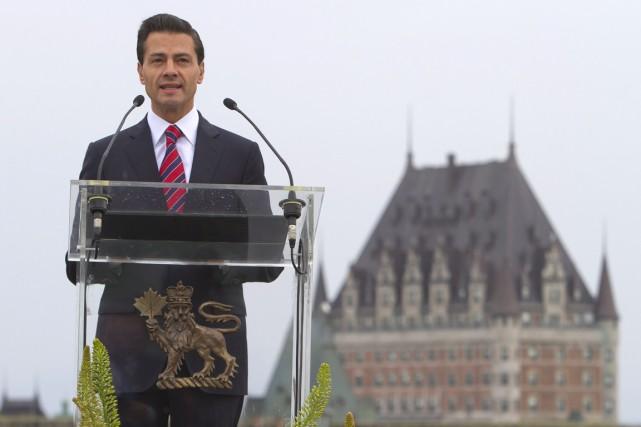 Le Mexique est le premier partenaire commercial du... (Photo La Presse Canadienne)