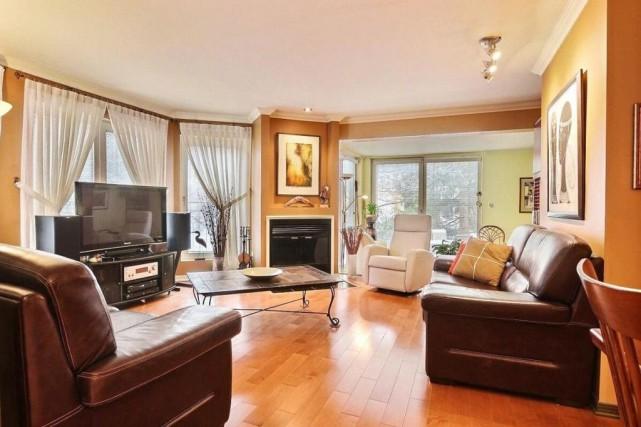 Cet appartement de L'Île-des-Soeurs a été vendu 366... (Photo fournie par la courtière)