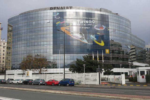 Le siège social de Renault près de Paris...