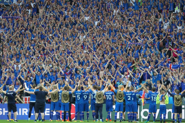 L'Islande et sa défense de fer, sa possession... (PHOTO AP)