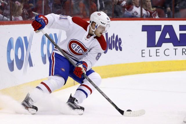 LarsEller a vécu une certaine stabilité à Montréal,... (PHOTO AP)
