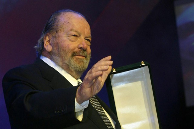 Bud Spencer en novembre 2004 au Festival international du... (PHOTO AFP)