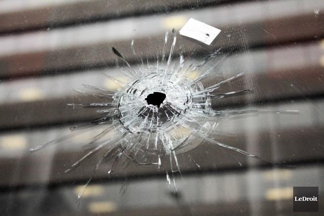 L'indice de gravité des crimes violents à Ottawa a enregistré une hausse de 7,3... (Archives, LeDroit)