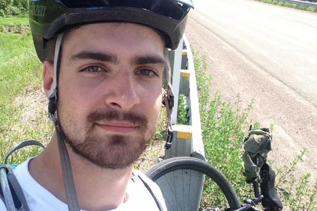Pierre-Olivier Hudon a réussi son défi de parcourir... (Pierre-Olivier Hudon)