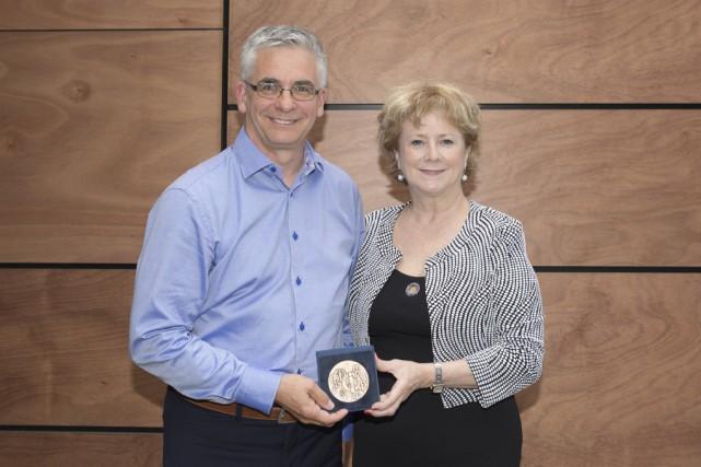 Le psychoéducateur Richard Chagnon a reçu le Mérite... (fournie par le CIQ)