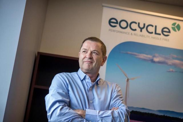 Richard Legault, président et directeur général d'Éocycle... (Photo Marco Campanozzi, La Presse)