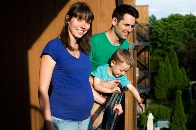 Lorsqu'elle a su qu'elle était enceinte, Julie Descôteaux... (photo olivier pontbriand, la presse)