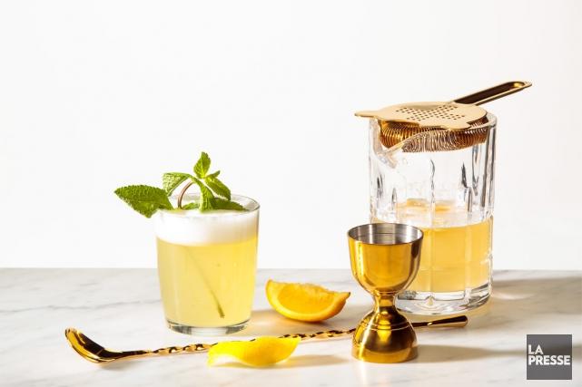 Pas besoin d'avoir un shakerdernier cri et un bar rempli de boissons... (PHOTO HUGO-SÉBASTIEN AUBERT, LA PRESSE)