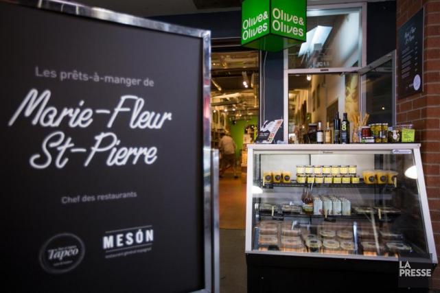 Marie-Fleur Saint-Pierre, des restaurants Mesón et Tapeo, a... (Photo Olivier Pontbriand, La Presse)