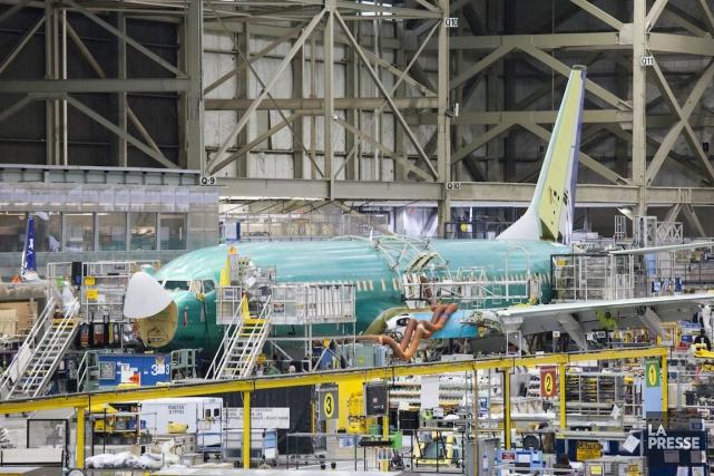 Les profits de l'industrie aérospatiale canadienne ont bondi de 64% l'an... (PHOTO DAVID RYDER, ARCHIVES REUTERS)