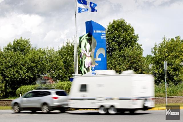 De 1971 à 2015, les personnes ayant quitté le Québec à la faveur des autres... (Archives La Presse)