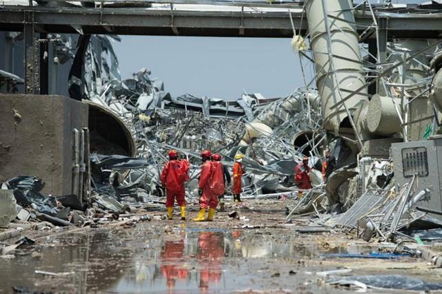 La semaine dernière, une tornade a causé dans... (PHOTO ARCHIVES NEWS.CN)