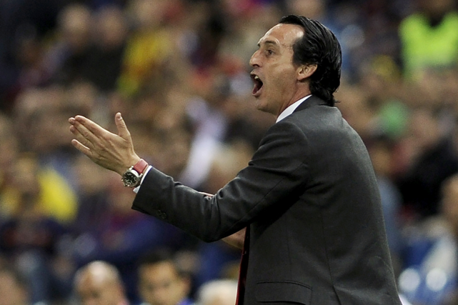 Unai Emery... (Photo Cristina Quicler, AFP)