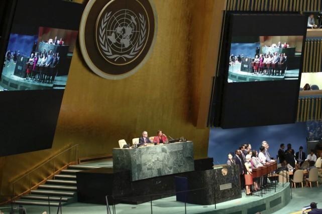 La Suède, la Bolivie, l'Éthiopie et le Kazakhstan ont été élus mardi membres... (PHOTO KENA BETANCUR, AFP)