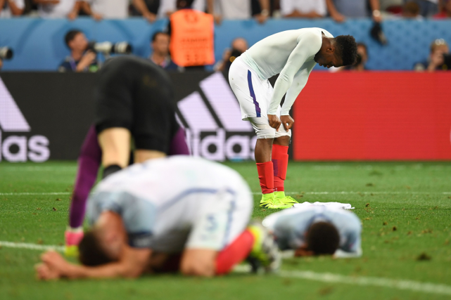 La défaite humiliante de l'Angleterre contre la modeste... (Photo Paul Ellis, AFP)