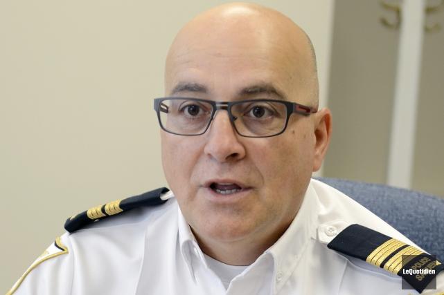 Le capitaine à l'éthique à la Sécurité publique... ((Archives Le Quotidien))