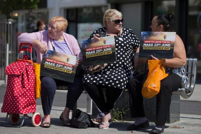 «Habitants de régions dévitalisées, chômeurs sans diplôme, retraités... (PHOTO JUSTIN TALLIS, agence france-presse)