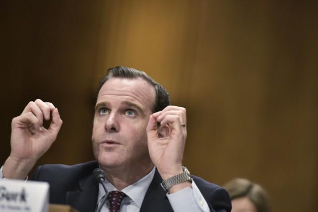 Brett McGurk, envoyé spécial du président Obama,s'est exprimé... (PHOTO AP)