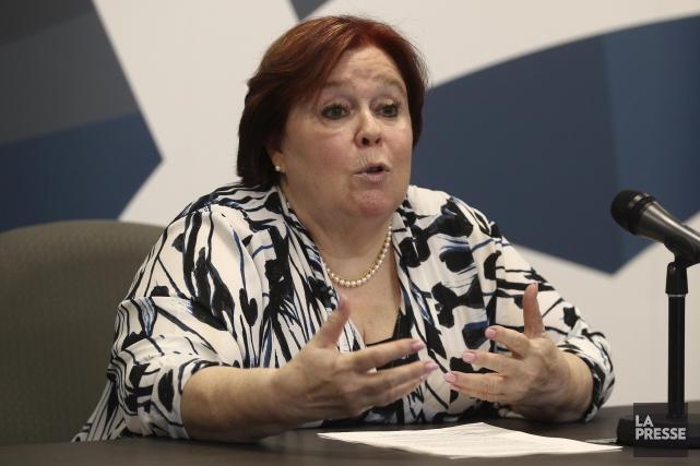 Madeleine Giauque, directrice du Bureau des enquêtes indépendantes... (La Presse, Martin Chamberland)