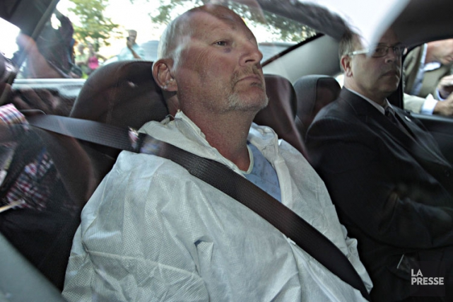 RichardBain est accusé du meurtre prémédité du technicien... (PHOTO PATRICK SANFAÇON, ARCHIVES LA PRESSE)