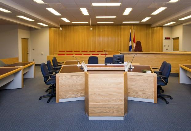 La salle principale du palais de justice de... (Spectre Média, Jessica Garneau)
