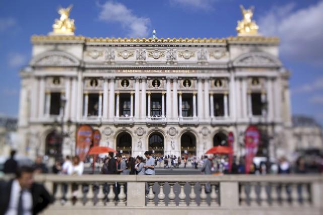 L'Opéra Garnier en 2011... (AFP, Joël Saget)