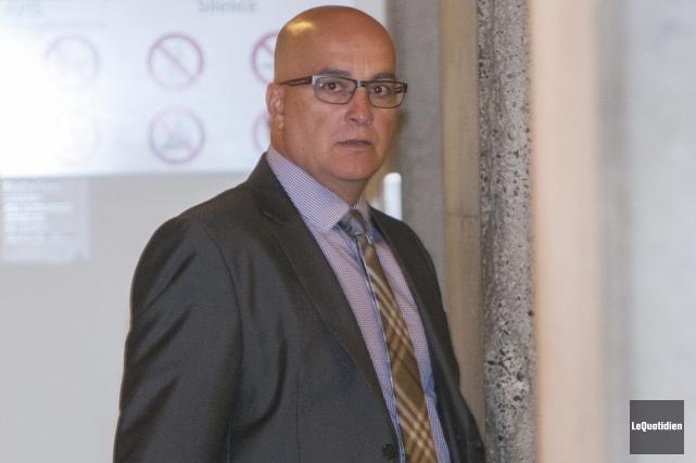 Marc Sénéchal est le capitaine à l'éthique de... (Photo Le Quotidien, Michel Tremblay)